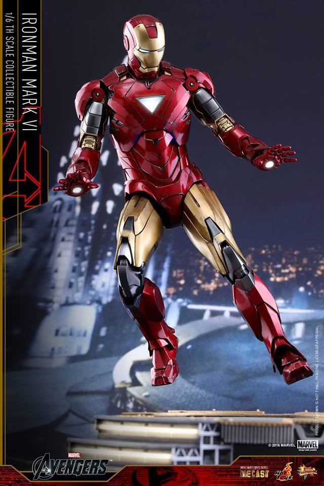 Hot Toys Exclusive Die-Cast Iron Man Mark VI Up for Order ...