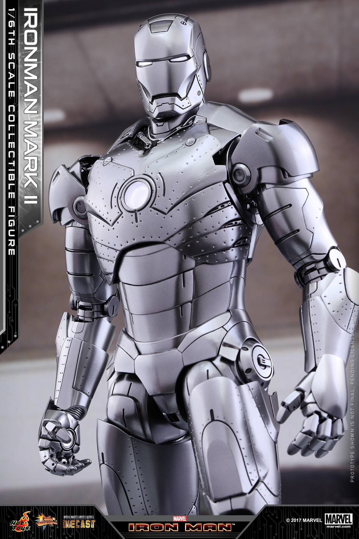 Exclusive Hot Toys Iron Man Mark II Die-Cast Up for Order ...