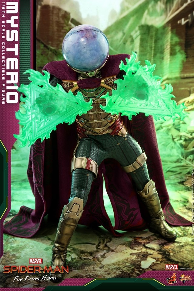 Hot Toys Mysterio Figure Up For Order Amp Hi Res Photos