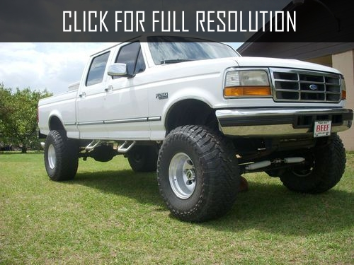 Powerstroke Ford 1994 F 150 Lifted