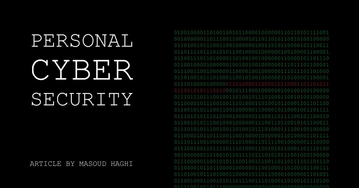Cyber Security Personal