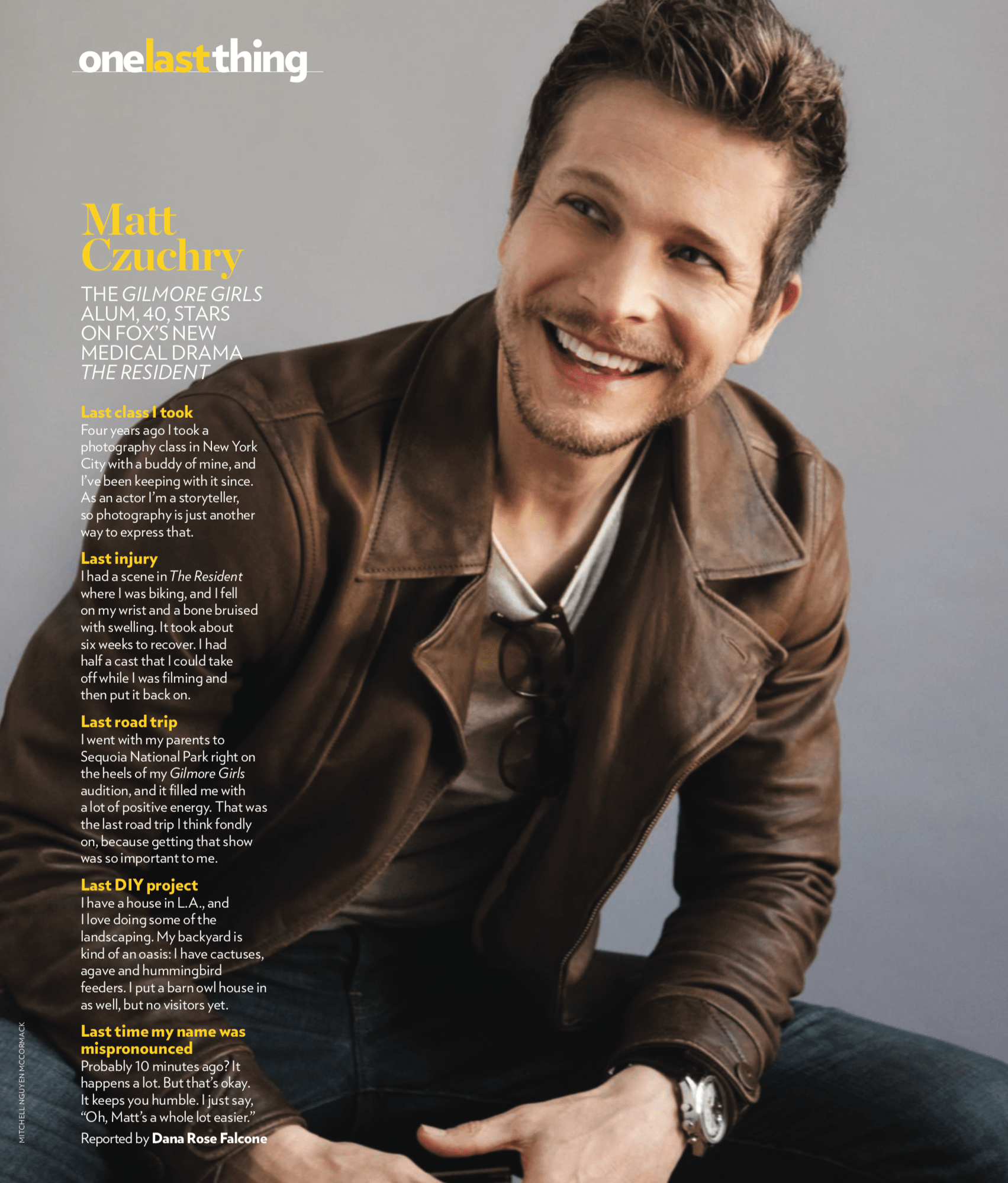 Friday Matt Lights Night Czuchry
