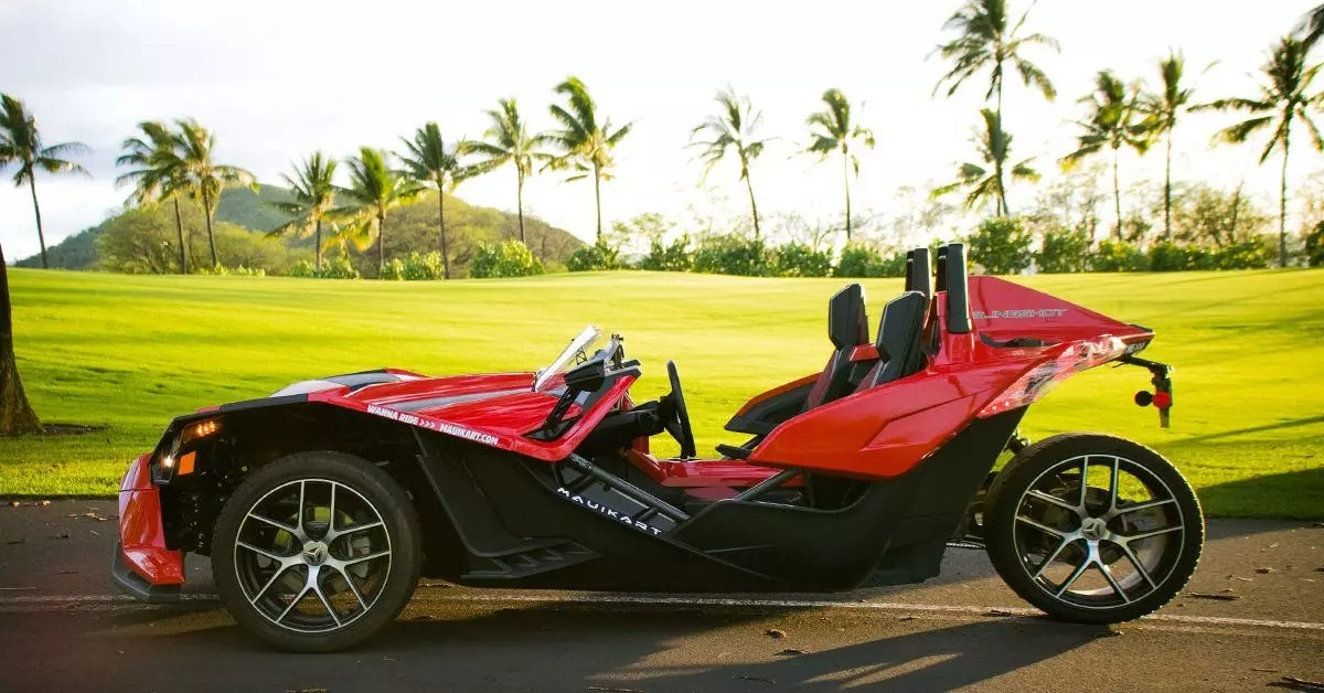 maui, hawaii, rentals, motorcycle, tours, sling, shot, kart, golf, course, wailea