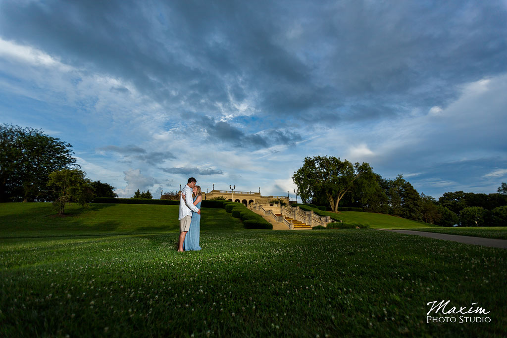 Ault Park Wedding Photography By Maxim Photo Studio