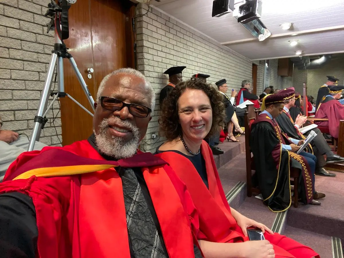 Dr. John Kani gets an Honorary Doctorate