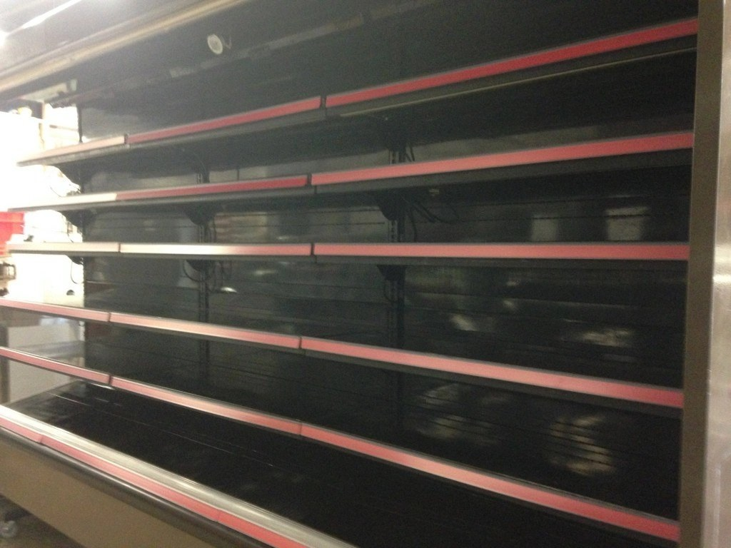 Hussmann D6nx Multi Deck Display For Dairy And Deli