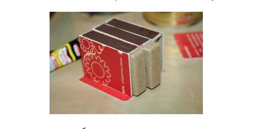 Используем спичечные коробки для создания комода