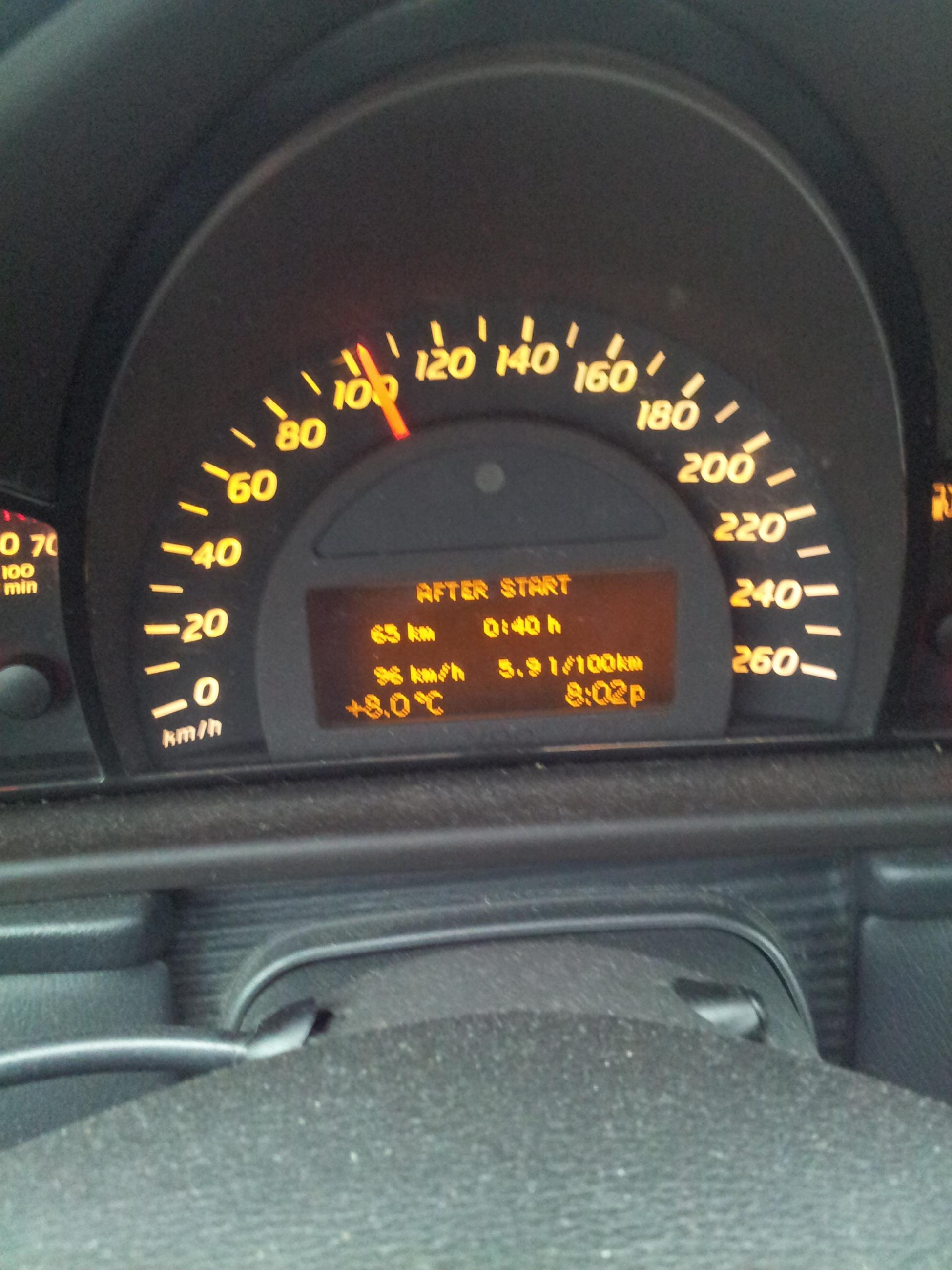 2001 C200 Kompressor Terrible Fuel Economy Mbworld Org