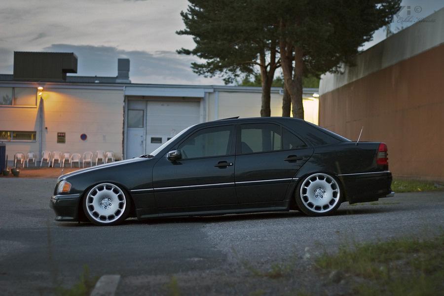 1999 Mercedes C200 Kompressor Black