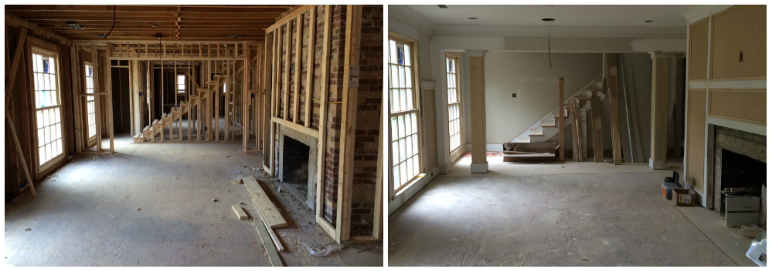 1950 S Cherokee Rancher Renovation Beauty In Progress Mccamy Construction Mccamy Construction