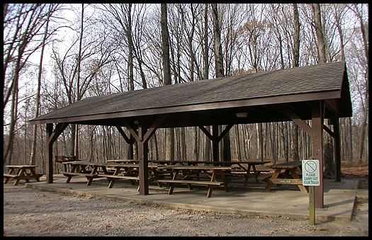 Maple Grove Shelter Picture Mccormick S Creek State Park