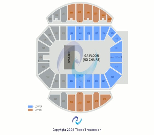 Fayetteville Crown Coliseum Seating Chart Disney Ice