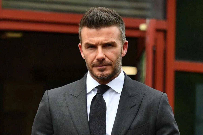 David Beckham gets driving ban