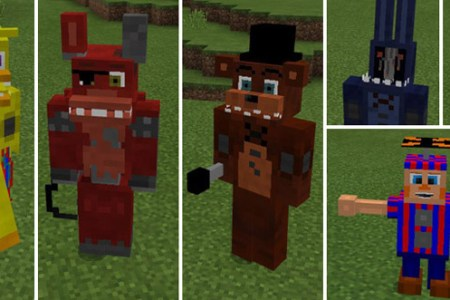 Skin De Toy Chica Para Minecraft Full HD Pictures K Ultra - Skins para minecraft pe de fnaf