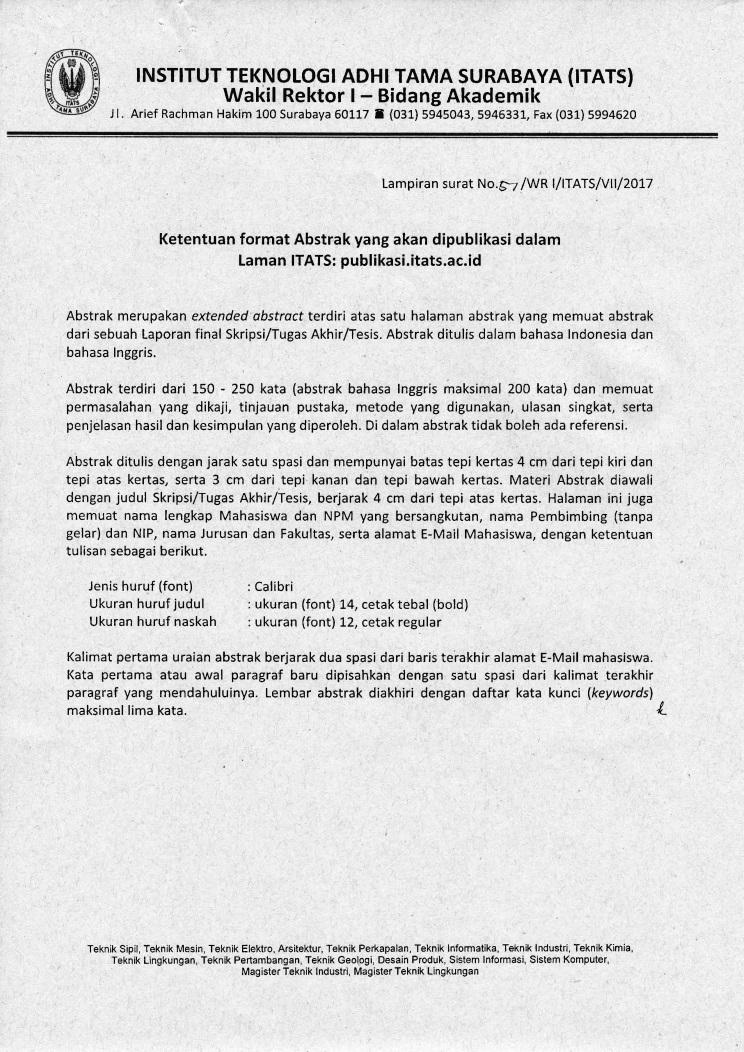 Best Contoh Abstrak Skripsi Bahasa Inggris Image Collection