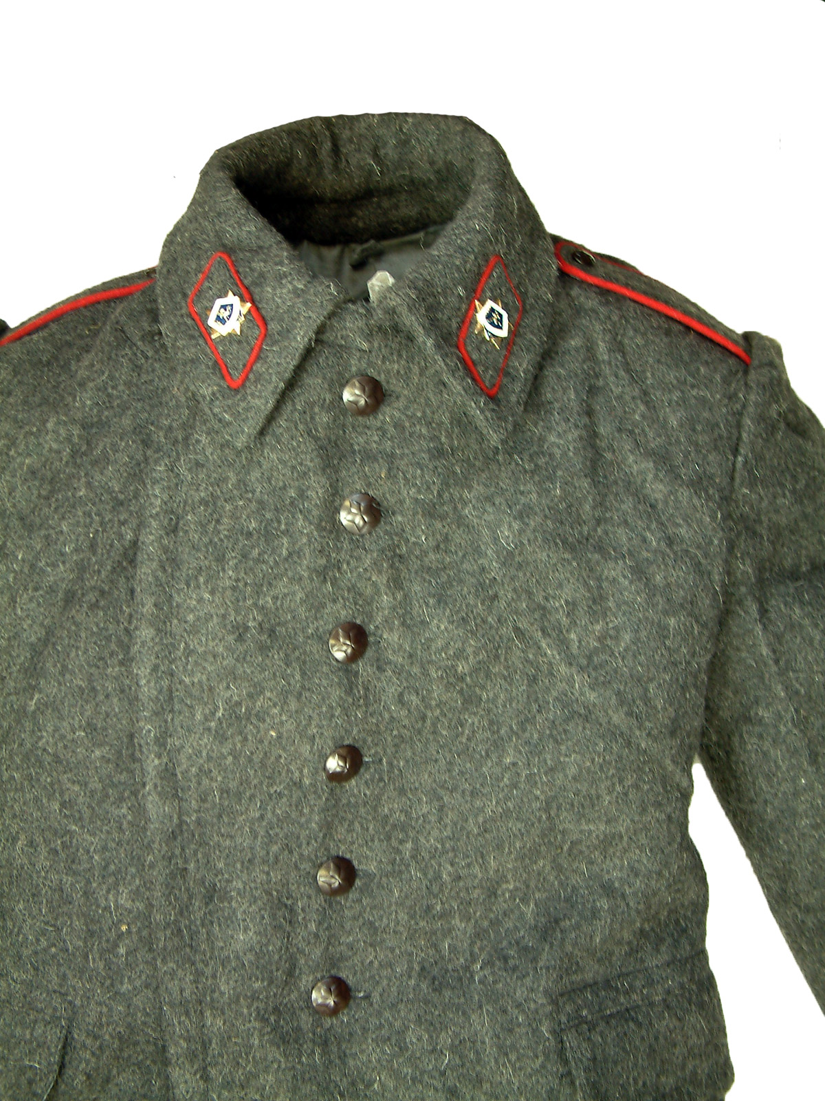 Soviet Issue Great Coat By Bulgarian Army