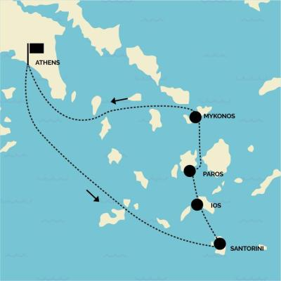 11 Day Greek Island Hopping Tour - Experience of a lifetime!