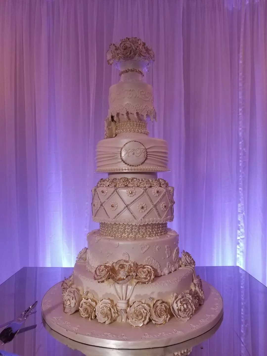 Edible Designs Wedding Cakes Houston Tx
