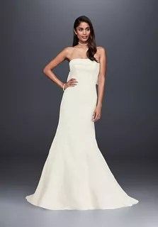 David s Bridal Galina Signature Style KP3765 Wedding Dress   The Knot