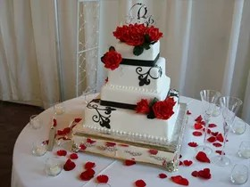 Sandy s Wedding Cakes   Knoxville  TN Designs in Sugar