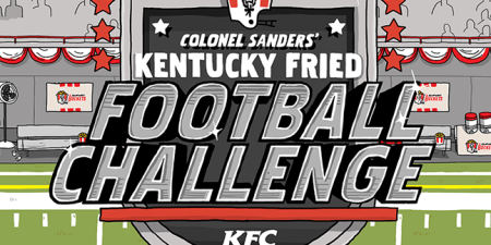 KFC creates Instagram football game with  Kentucky Fried Football     KFC s football game