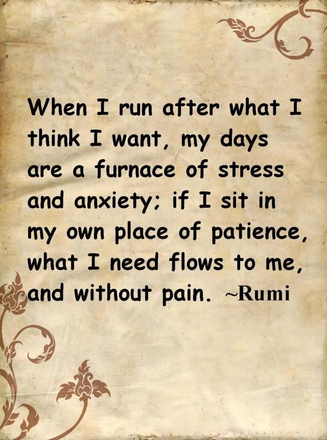 Rumi Quotes On Patience. QuotesGram