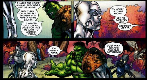planet hulk and silver surfer | COMICS BOOKs | Pinterest