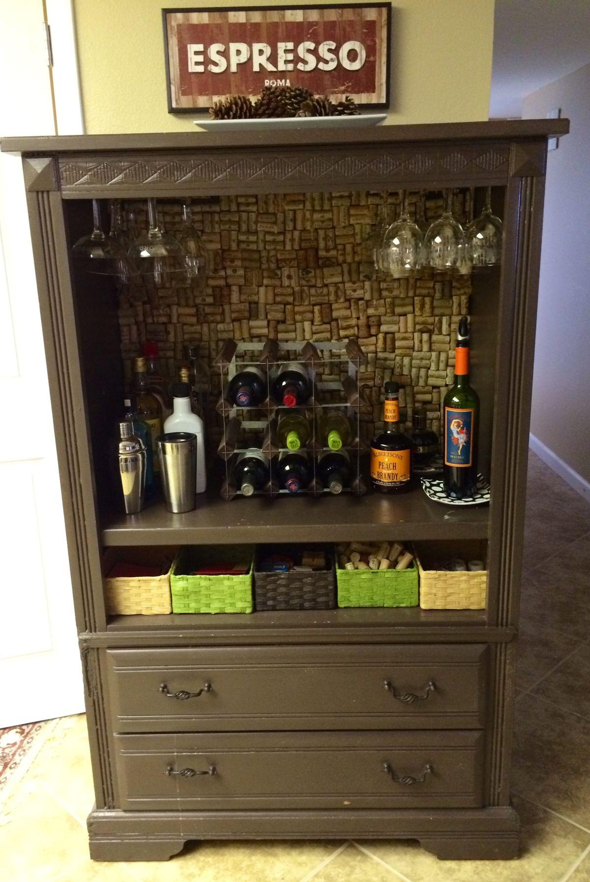 Transform An Old Dresser Into A Storage Packed Kitchen