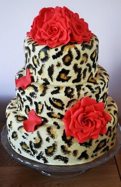 Cakes Animal Print On Pinterest Animal Print Cakes