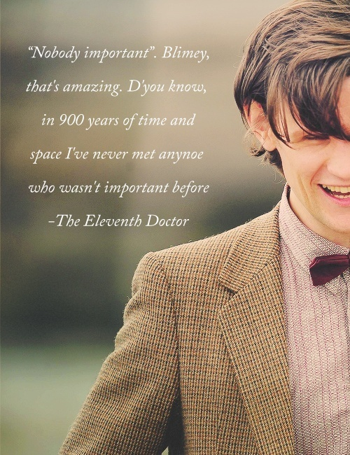 Best Doctor Who Quotes 11th. QuotesGram