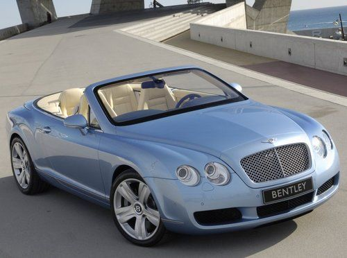 Bentley Light Blue Stunning Classic And Modern Cars