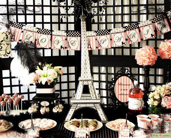 Southern Blue Celebrations Paris Party