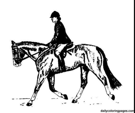 Horse And Rider Coloring Pages   Democraciaejustica English Rider Horse Coloring Pages Eloise Pinterest