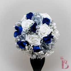 Silver Bridal Bouquet Of Flowers | Gardening: Flower and Vegetables