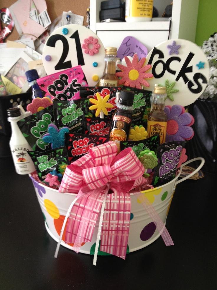 21st Birthday   Gift Ideas   Pinterest