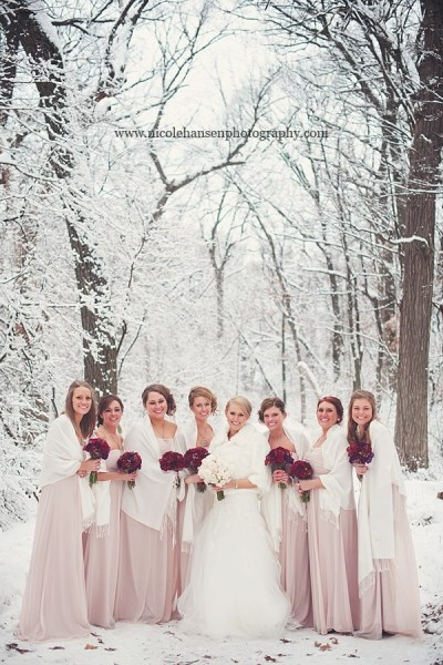 Beautiful Winter Wedding!! | Photo Ideas! | Pinterest