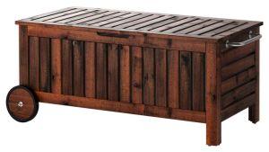 PPLAR Storage Bench IKEA Dreamy Outdoor Spaces