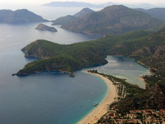 Iss Most Famous Beach Olu Deniz Turkey