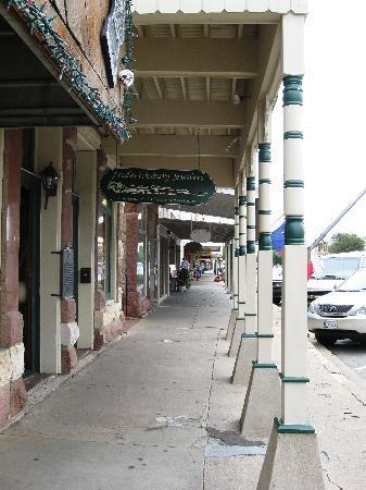 Fredricksburg, TX - Picture of Main Street, Fredericksburg ...