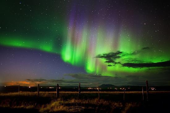 Forecast Northern Lights Iceland