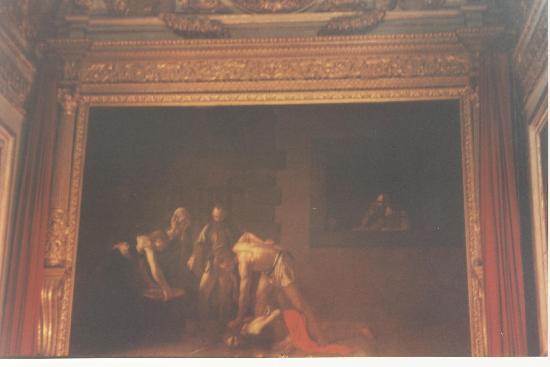 Saint Jean Baptiste Malte Caravage