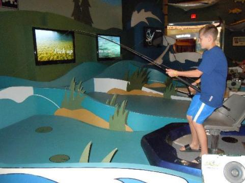 Interactive Fishing Game   Picture of IGFA Fishing Hall of Fame     IGFA Fishing Hall of Fame   Museum  Interactive Fishing Game