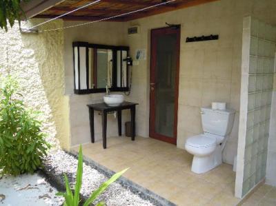 bagno all'aperto garden bungalow n.360 - Bild von Kuredu ...