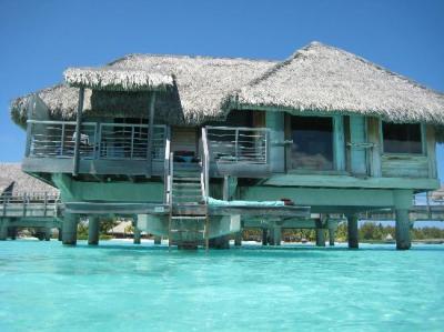 Our villa - Picture of InterContinental Bora Bora Resort ...