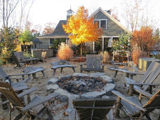 Bonfire Area Near The Reception Picture Of Hidden Pond