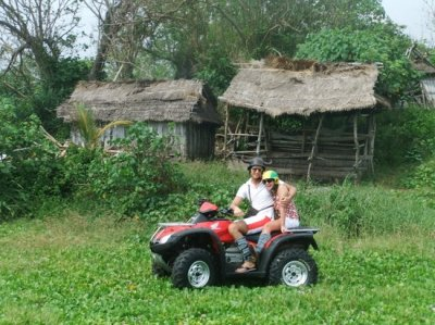 Experiencing the local life. - Picture of Bali Island ATV ...