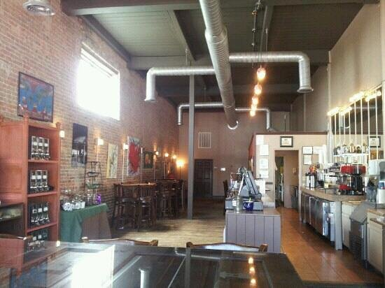 modern and charming interior   Picture of The Coffee Well  Gadsden     The Coffee Well  modern and charming interior