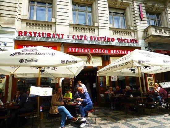 Restaurant Cafe Svateho Vaclava