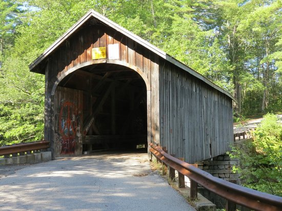 Babbs Covered Bridge Windham Me Address Point Of