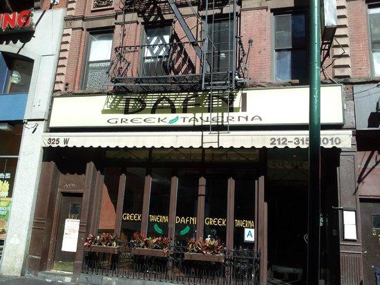 Greek Restaurant 42nd Street New York